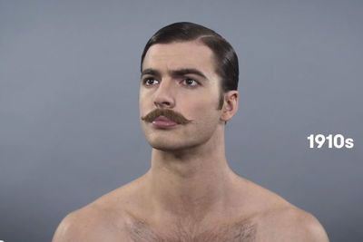 Watch A Whole Century Of Men's Grooming Trends