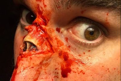 Video: Holy Sh*t! Self Taught Aussie Special Effects Artist, Marc Clancy, Is The King Of Gore Makeup. It's So Realistic You'll Want To Vomit!