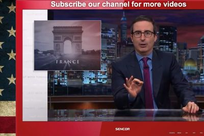 Video: John Oliver Has A Profane Message To Paris Attackers: ' F**k Those Arseholes!'