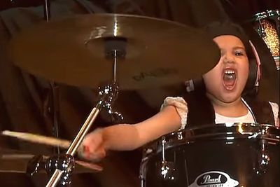 Video: This 5 Year Old Drummer-kid Makes System Of A Down's 'chop Suey' Look As Easy As A Nursery Rhyme
