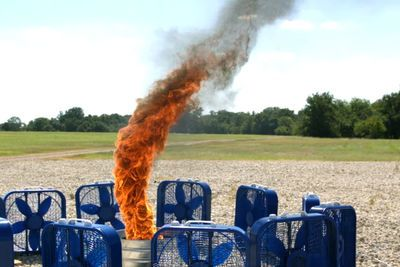 Video: Fire Tornado In Slow-motion Looks Like Some Kind Of Summoning Ritual!