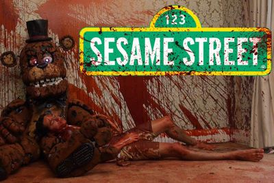 Video: New Sesame Street Horror Will Keep You Awake All Night! Be Warned Though: It Gets Bloody, Gory, Dark, Disgusting And Violent.