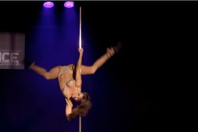 Video: This Miss Pole Dance Australia Competitor's Performance Is Nothing Short Of Breathtaking!