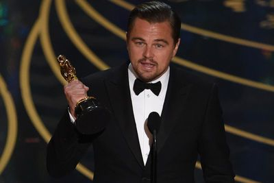 Video: Leo Did It! Watch Leonardo Dicaprio's Acceptance Speech For His Very First Oscar!