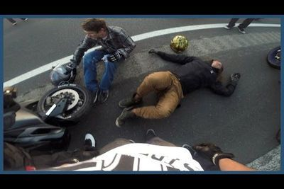 Video: Stunt Rider Gets Thrown Head First Onto The Highway Doing Seat Stander Coasters In Mexico!