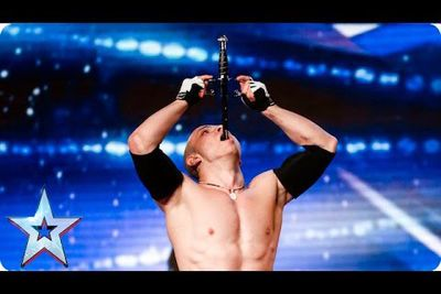 Video: Crazy Sword Swallower Goes On Britain's Got Talent And Makes All The Judges Cringe In Fear!