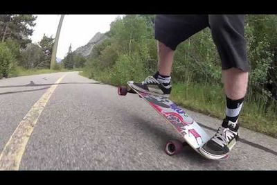 Video: Guy Does A Manual On His Skateboard For Over Half A Mile. Epic Skill!