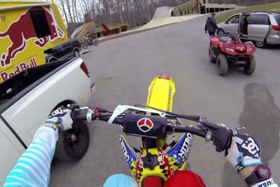 Video: Strap A Helmet On For This First-person-view Ride Through Travis Pastrana's Private Compound On His Track, Weaving Through The Woods!