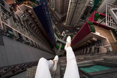 Video:  Nutcase Oleg Cricket Sneaks Up Skyscrapers Throughout Russia And Hong Kong To Give Us A Sickening View Of What Jumpers Witness Before The Plunge!