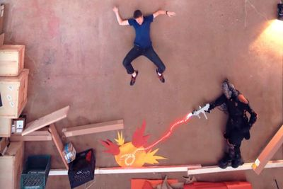 Video: An Epic Gravity And Time Defying Battle Between Two Foes In This Incredible Stop-motion Animated Short, Where Anti-gravity And Time Travel Collide!