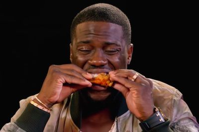 Video: Kevin Hart Says He Feels Like He's On Drugs From Eating Spicy Wings On 'hot Ones', An Interview That Has The Celebrity Eat Progressively Hotter Wings!
