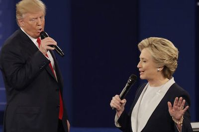 Video:  Donald Trump And Hillary Clinton Serenading Each Other During The Presidential Debate With The 1987 Hit '(i've Had The) Time Of My Life' Is The Alternate Reality The Usa Needs Right Now!