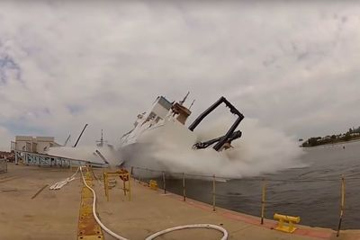Video: Ships Launches Gone Terribly Wrong!