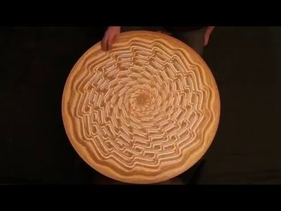 Video: This Amazing Sand Art Is So Mesmerizing.