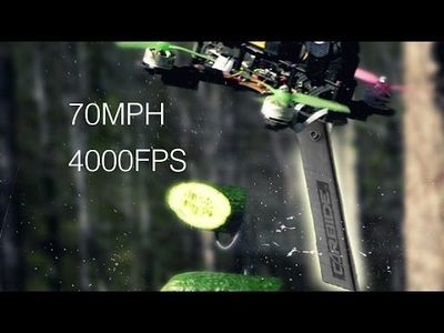 Video: Drone Vs Fruit Watch This Slow Motion Video Of Ninja-drones