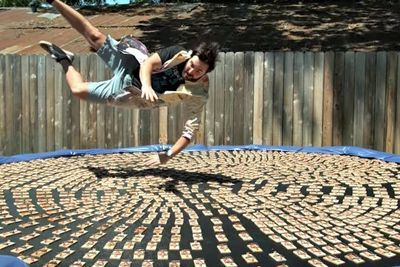 Video: 1000 Mousetraps...one Trampoline...watch The Slow Mo Guys Back In Action!