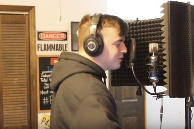 Video: 17-year-old Youtube Hip-hop Rapper Drops A New Track!