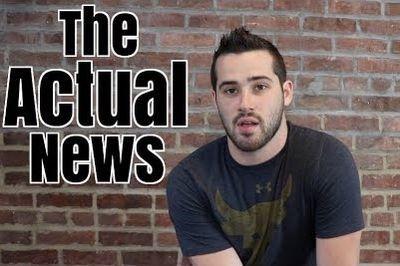 Video: Joe Santagato - The Actual News (hilarious!)