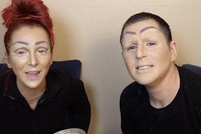 Video: Jenna Marbles Does Drag Queen Make Up On Her Boyfriend!