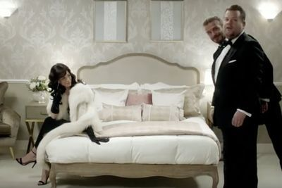 Video: The Next James Bond With David Beckham And James Corden!!