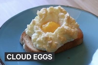 Video: Cloudy, Fluffy Eggs - The New Insta-food Trend!