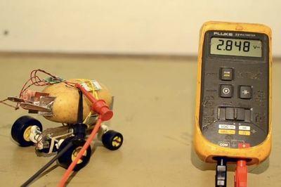Video: Watch This Self-driving Potato!