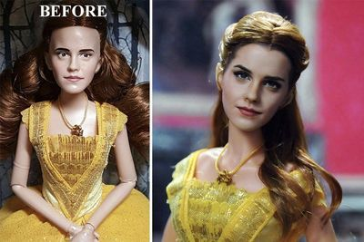 Artist Repaints Dolls' Faces To Make It Look More Realistic...