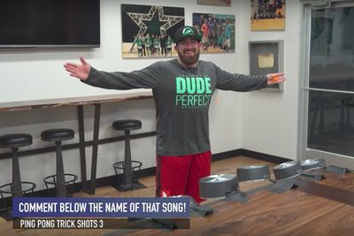Video: Ping Pong Trick Shots!