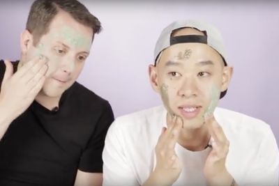 Video: Men Try Lush Beauty Products!