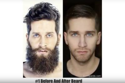 Video: Before & After Beard ' You Won't Believe It's The Same Person!