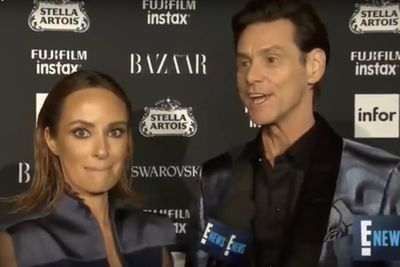 Video: Jim Carrey's Crazy Existential Live Interview At Nyfw With E News