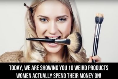 Video: Crazy Beauty Products That Women Are Actually Spending Money On