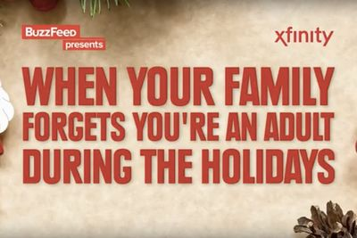 Video: When Your Family Forgets You're An Adult During The Holidays...
