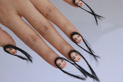 And The Award For The Weirdest Nail Trend Goes To...