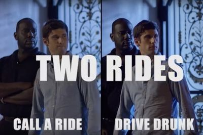 Video: Drunk Driving Vs. Sober Ride Home