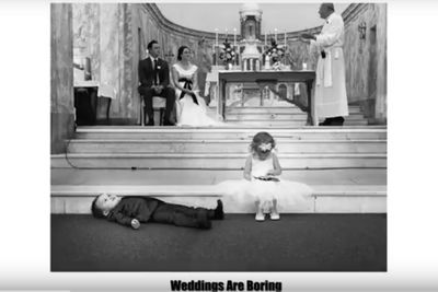 Video: Hilarious Pictures Of Children At Weddings