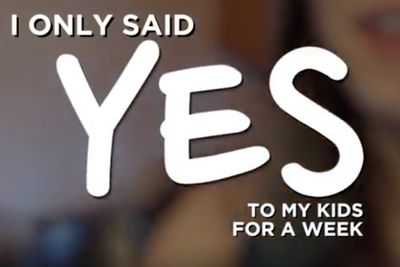 Video: Mother Only Says 'yes' To Her Children For One Week