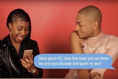 Video: Parents Read Their Sons Tinder Messages