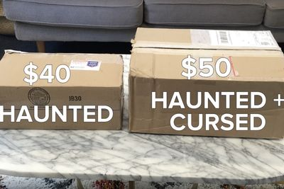 Video: The Haunted Mystery Box On Ebay