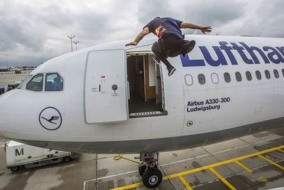 Video: Jason Paul Takes On A Freerunning Adventure Across An Airport!