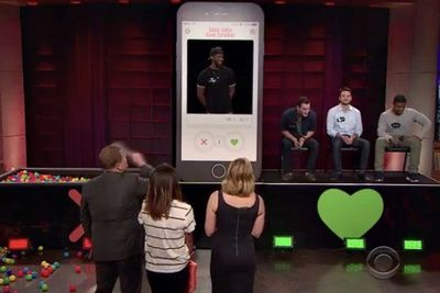 Video: James Corden Just Made Tinder So Much More Awkward Than It Already Is!