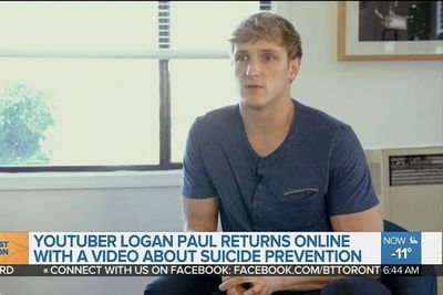 Video: The Suicide Prevention Of Logan Paul's Career