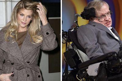 Kirstie Allen Roasts Stephen Hawking After His Death Is Announced?