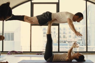 Video: Not Sure If Yoga Instructor... Or Just Feeling Us Up Inappropriately!