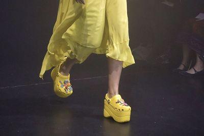 Video: Frankenstein Designs Shoes For Crocs?