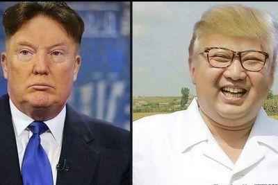 Trump And Kim Jong-un Kiss And Make Up