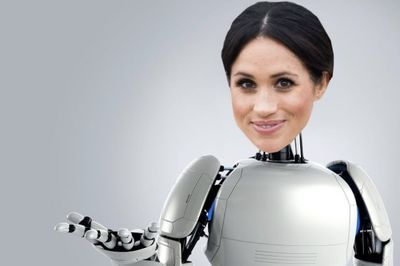 Video: The Robots Have Kidnapped Meghan Markle And Prince Harry!