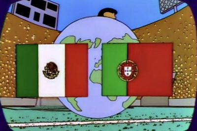 Video: Have The Simpsons Already Predicted The World Cup Final?