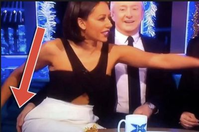 Video: That Time When Louis Walsh Groped Mel B's Butt On Live Tv