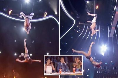 Video: The Trapeze Stunt That Went Wrong On America's Got Talent